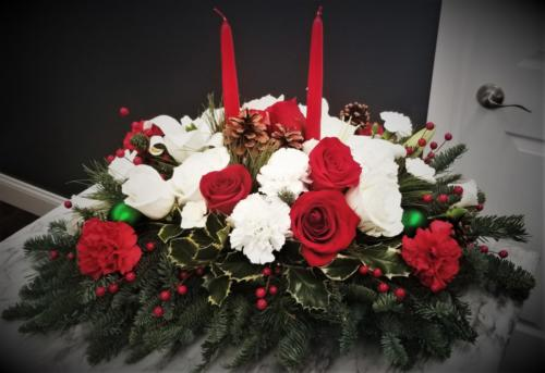 Large Holiday Centerpiece