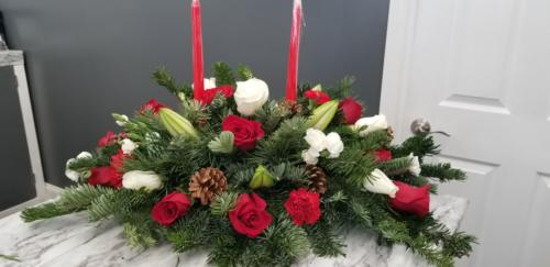 Extra Large Christmas Centerpiece